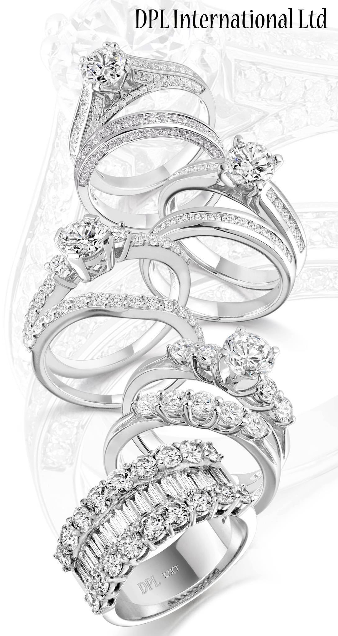 Diamond Rings. Beautiful styles & photography Claddagh