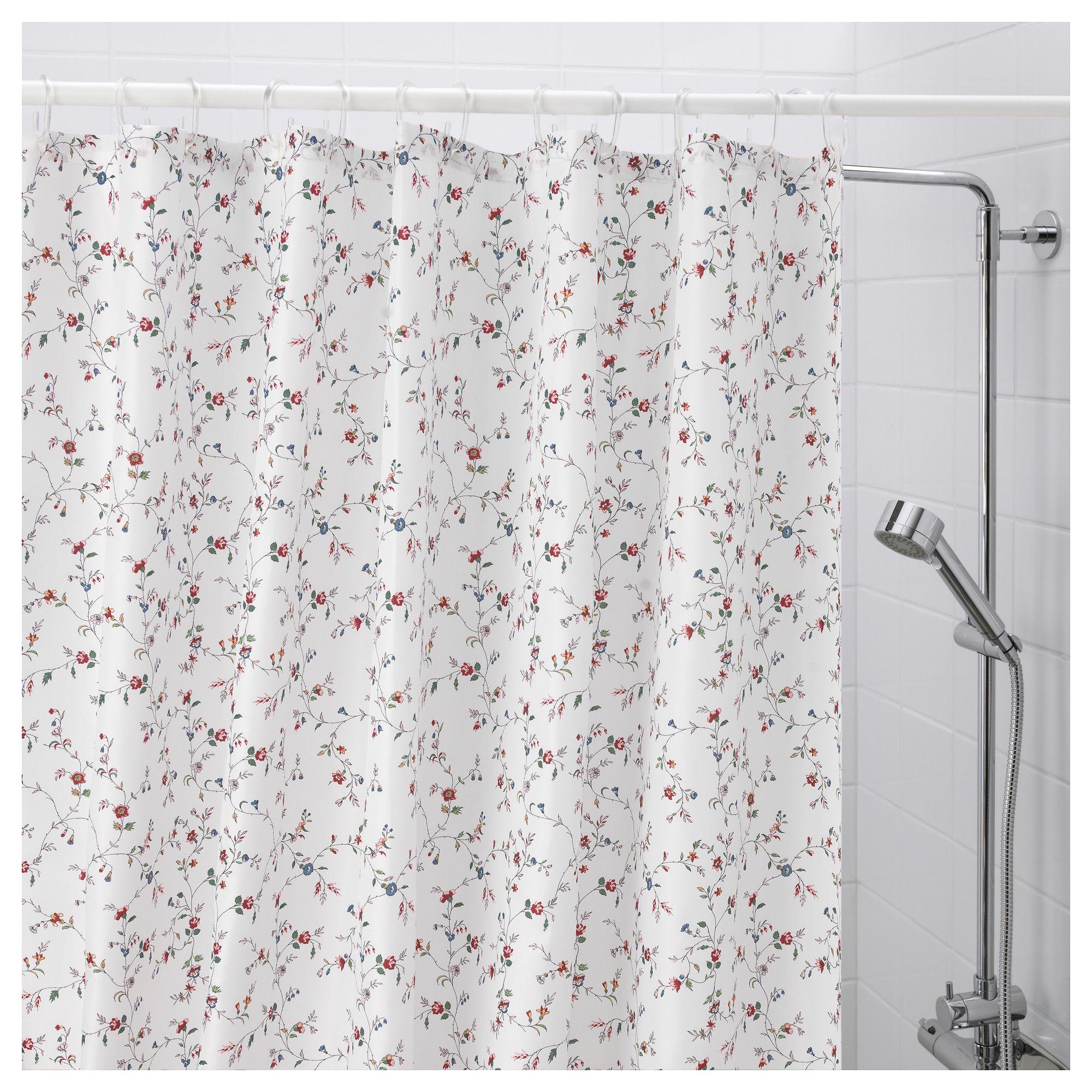 rideaux de douche en tissu
