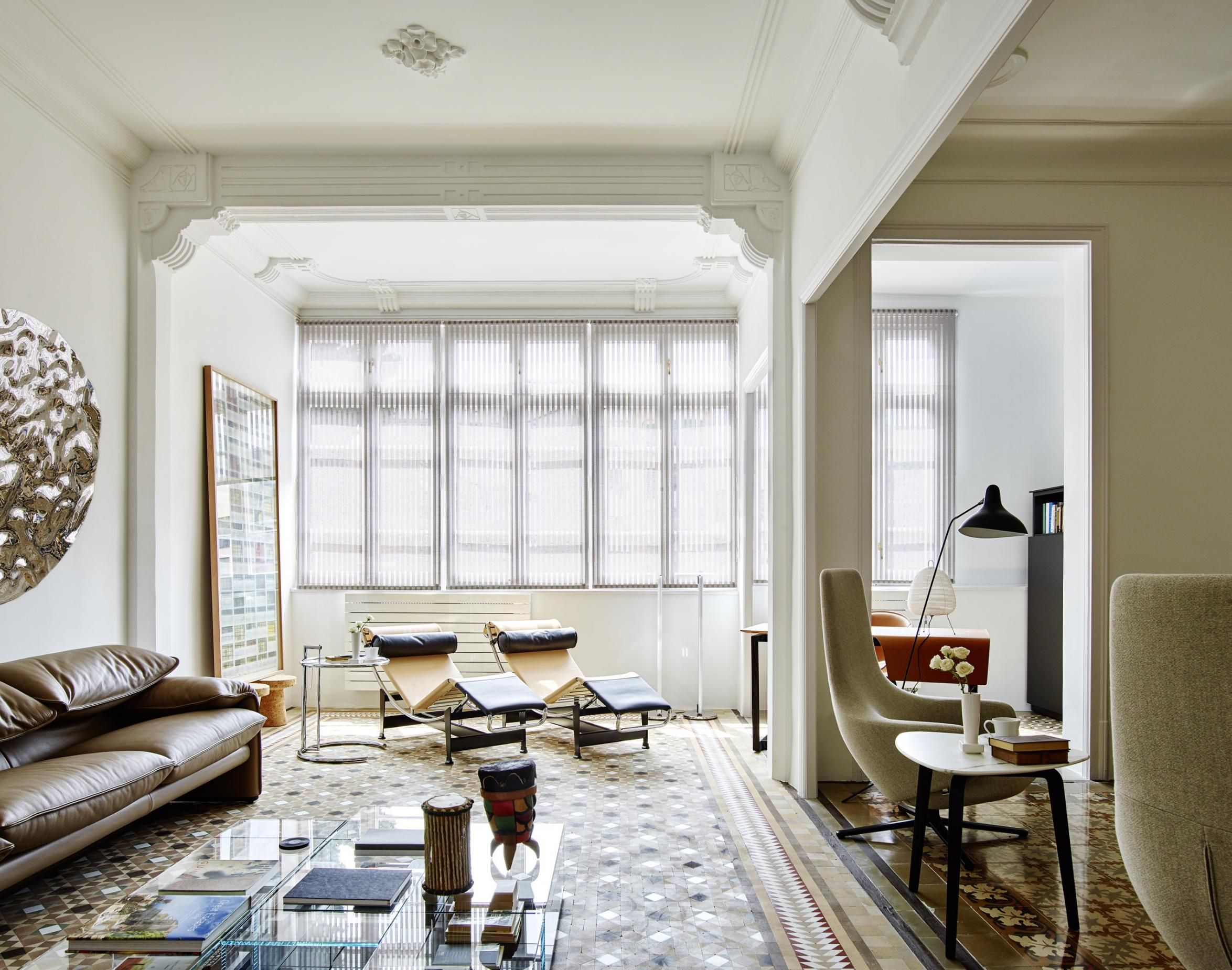 Restauraci n de un piso modernista en el ensanche for Estudios de interiorismo barcelona