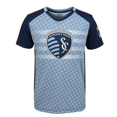 275bd051 MLS Boys Poly Jersey Sporting Kansas City - XS, Boy's, MultiColored ...