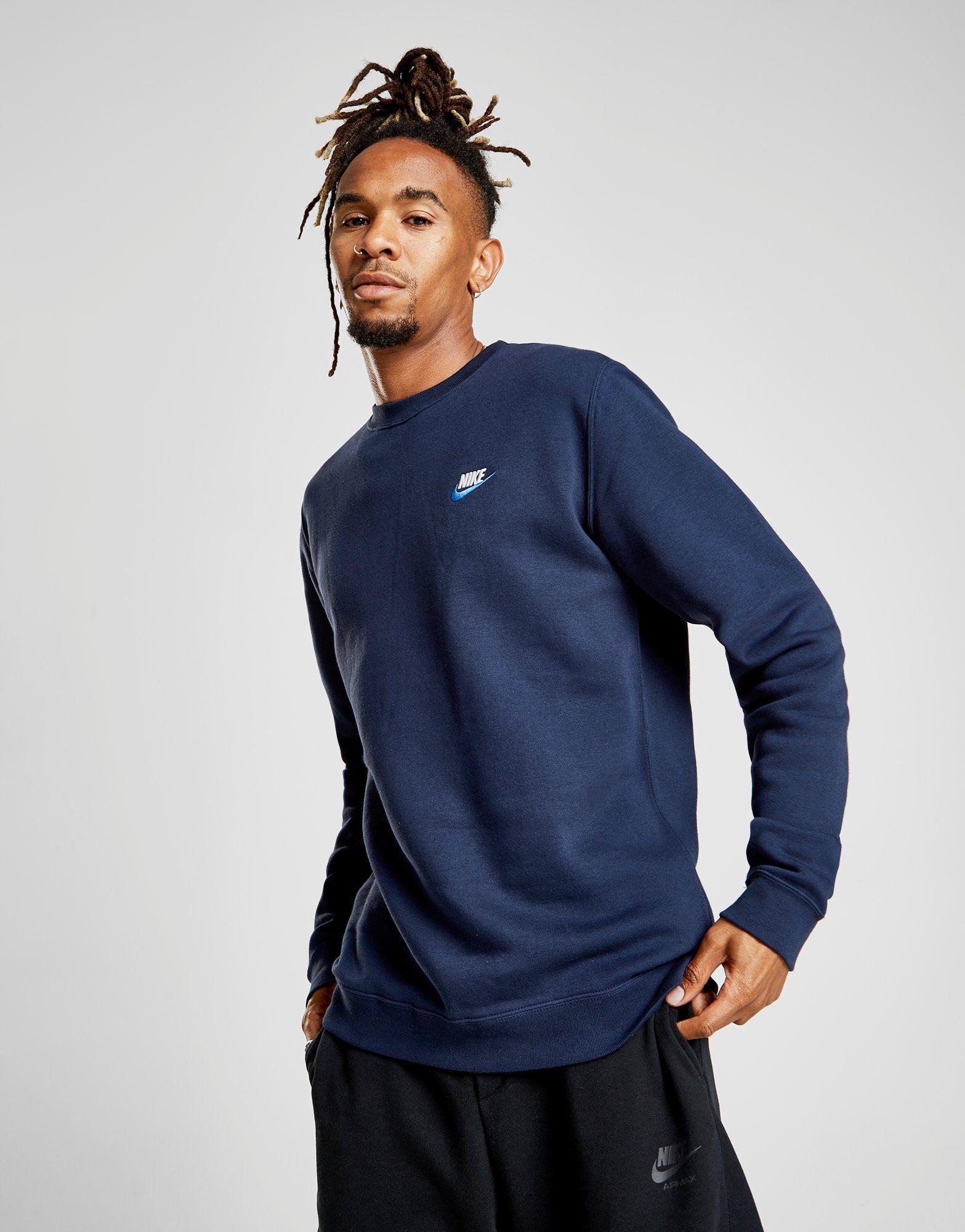 ala femenino polilla  Nike Foundation Crew Sweatshirt – Achète en ligne Nike Foundation Crew  Sweatshirt avec JD Sports, le leader du Sport Fash… | Streetwear, Vêtements  homme, Sweatshirt