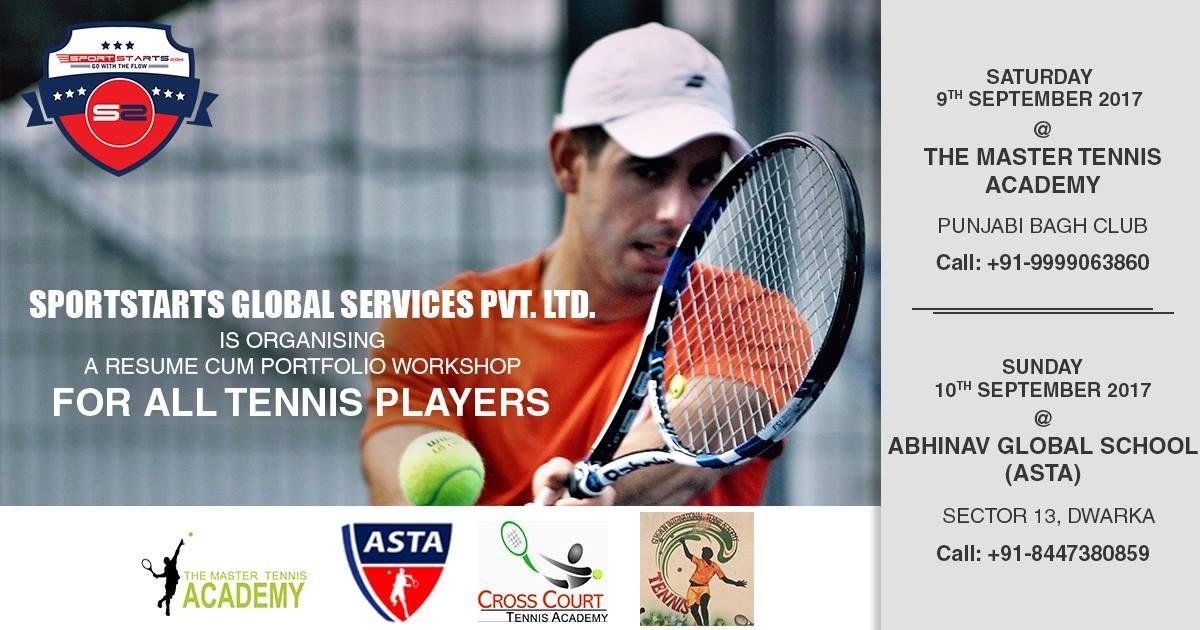 Sportstarts Global Services Pvt Ltd is Organising a Resume Cum - resume workshop
