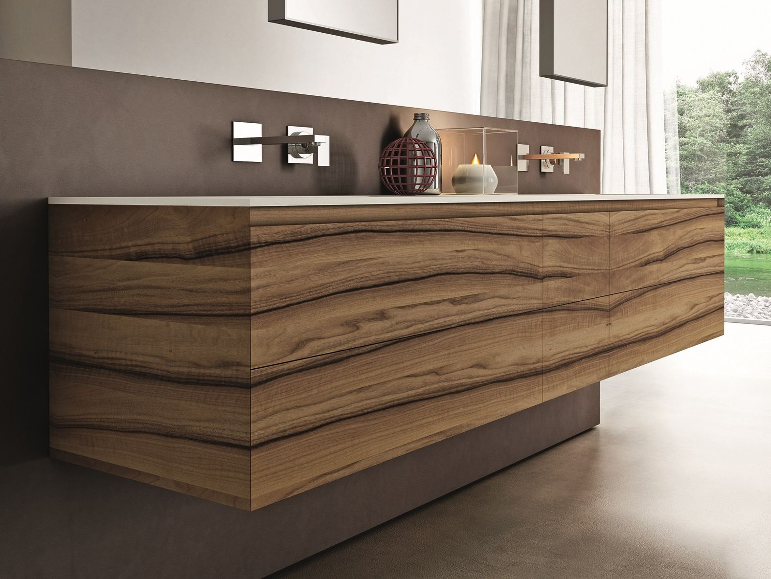 gorgeous wall mount vanity for bathroom furniture idea elegant wooden wall mount vanity with double