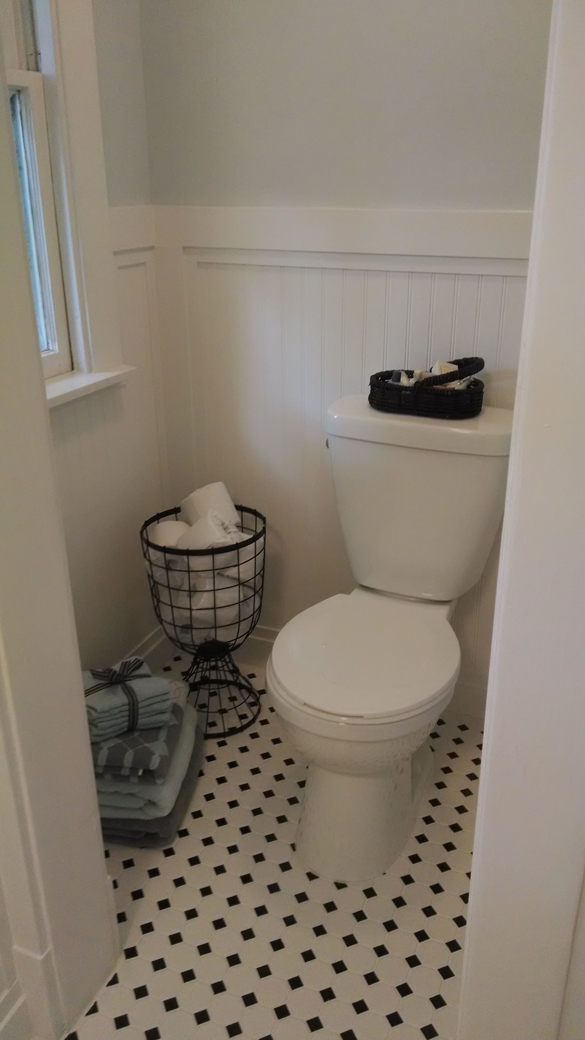 This Was The Linen Closet It S A Much Better Use Of Space Now Moving The Toilet Opened Up Enough Room To Turn The Tub And Create Space Toilettes