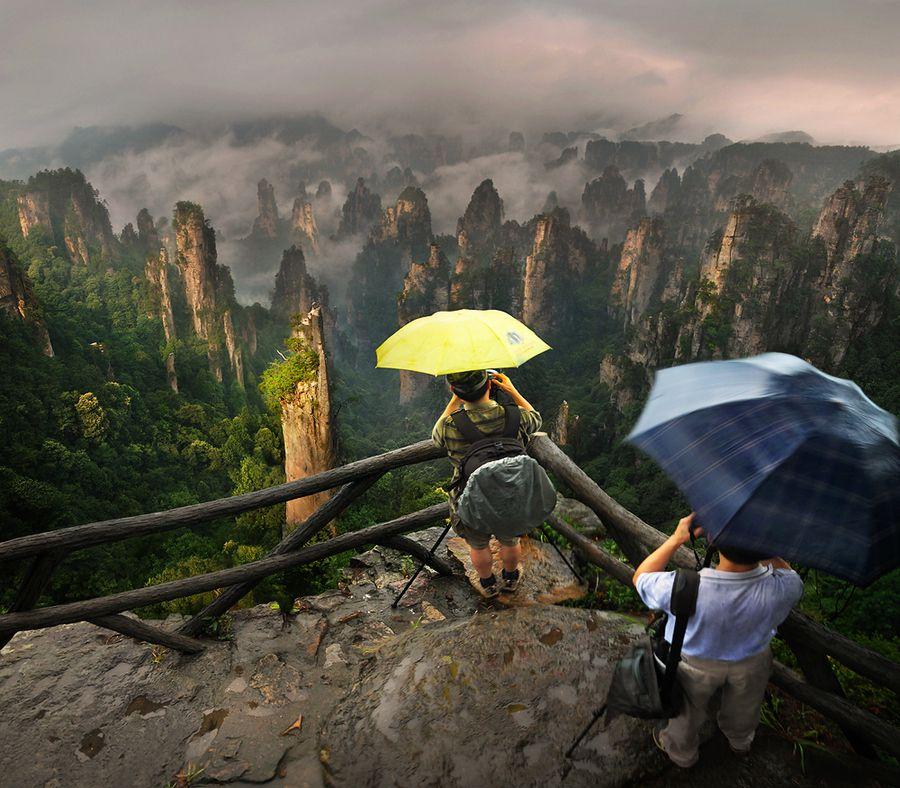 Avatar Pandora Landscape: Zhangjiajie, China By Weerapong Chaipuck