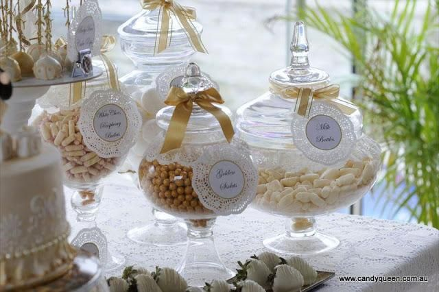 Vintage And Elegant Baby Shower By Candy Queen