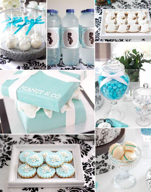 Tiffany Blue Themed Baby Shower Ideas