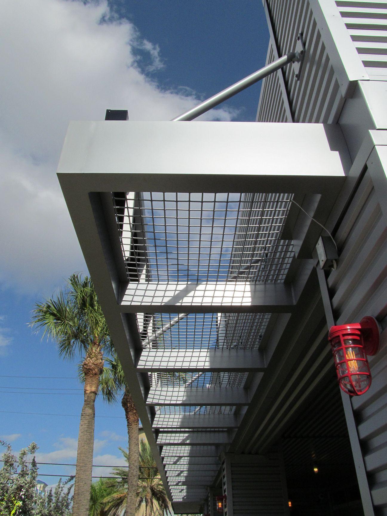 Aegis Metal Canopy Datum Metal Metal Canopy Aluminum Awnings Shade Structure