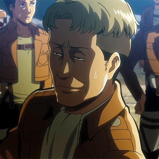 Oluo Bozado Attack On Titan Cute Anime Guys Cute Anime Boy