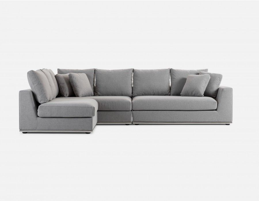 Horizon Light Grey Modular Sectional Sofa In 2019 Kristen