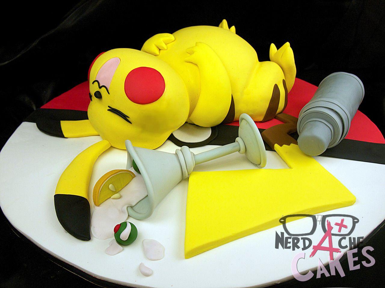 Compilado De Bolos Geeks Delicie Se Nerd Da Hora Pokemon