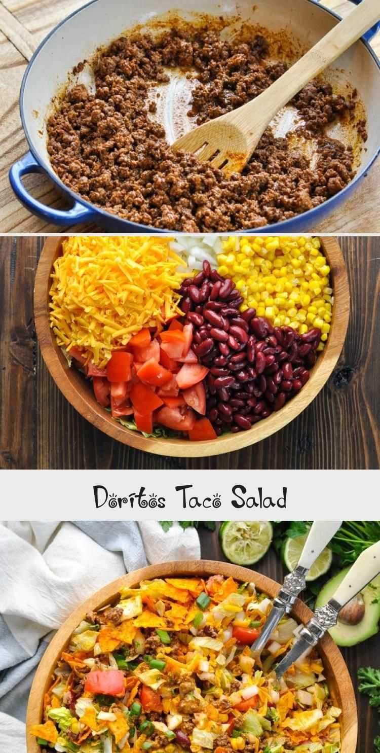Photo of This Doritos Taco Salad is a classic taco salad recipe that's a perfect party fo…