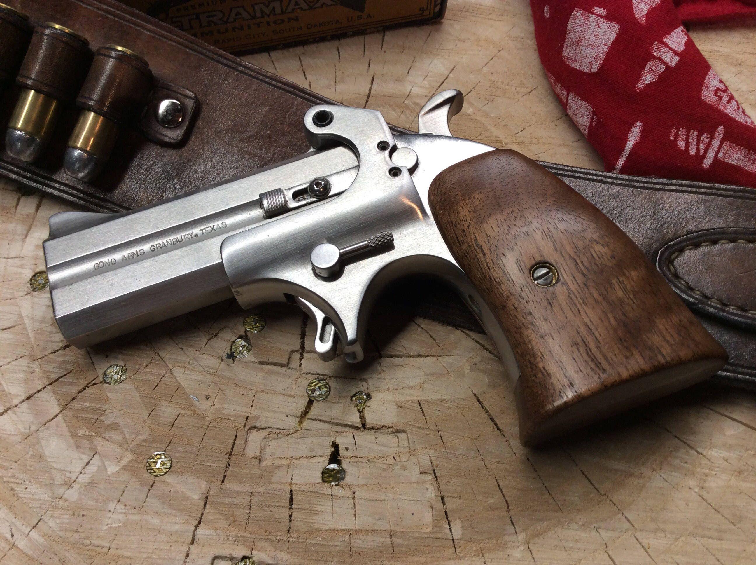six gun grips for the bond arms derringer gun stuff guns