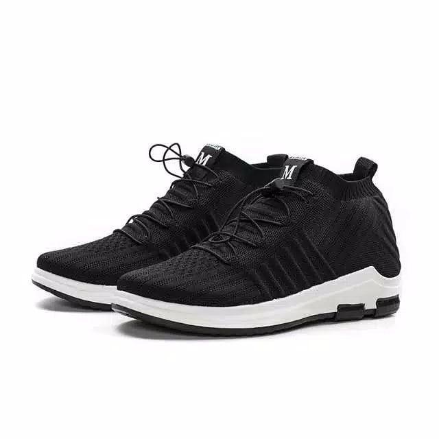 Sepatu Import Original Pria Full Black Luckyfanstore Hadir