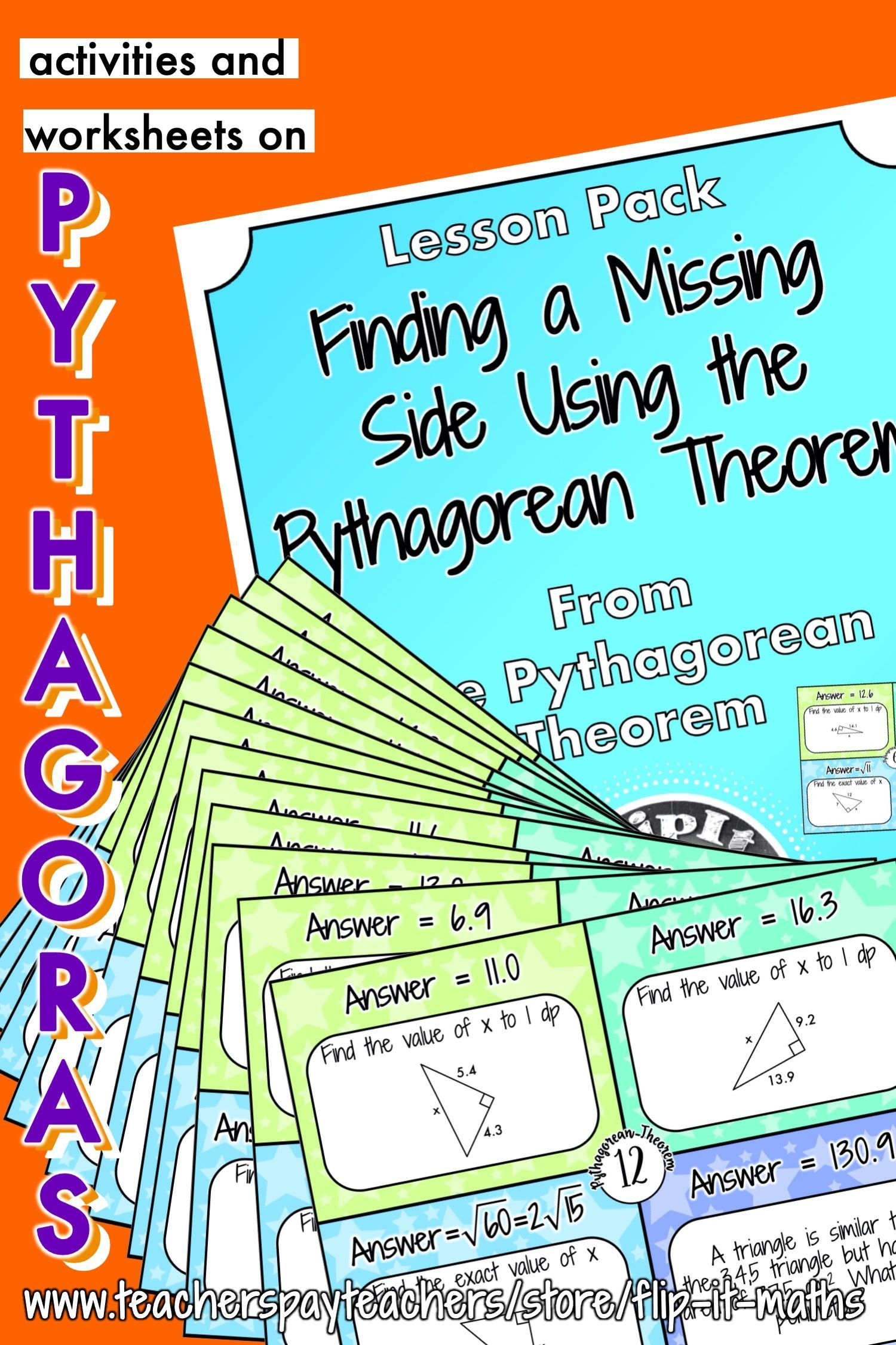 Finding A Missing Side Using The Pythagorean Theorem