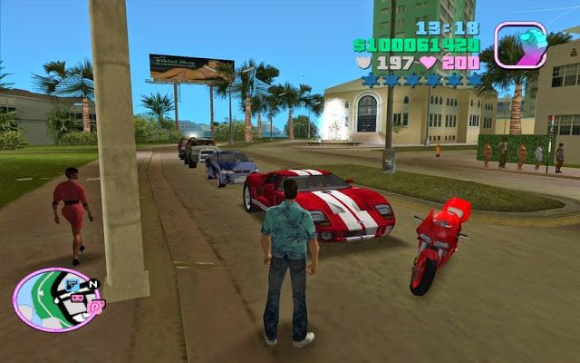 Gta Vice City Game Pc Full Version Free Download Grand Theft Auto Download Games City Games