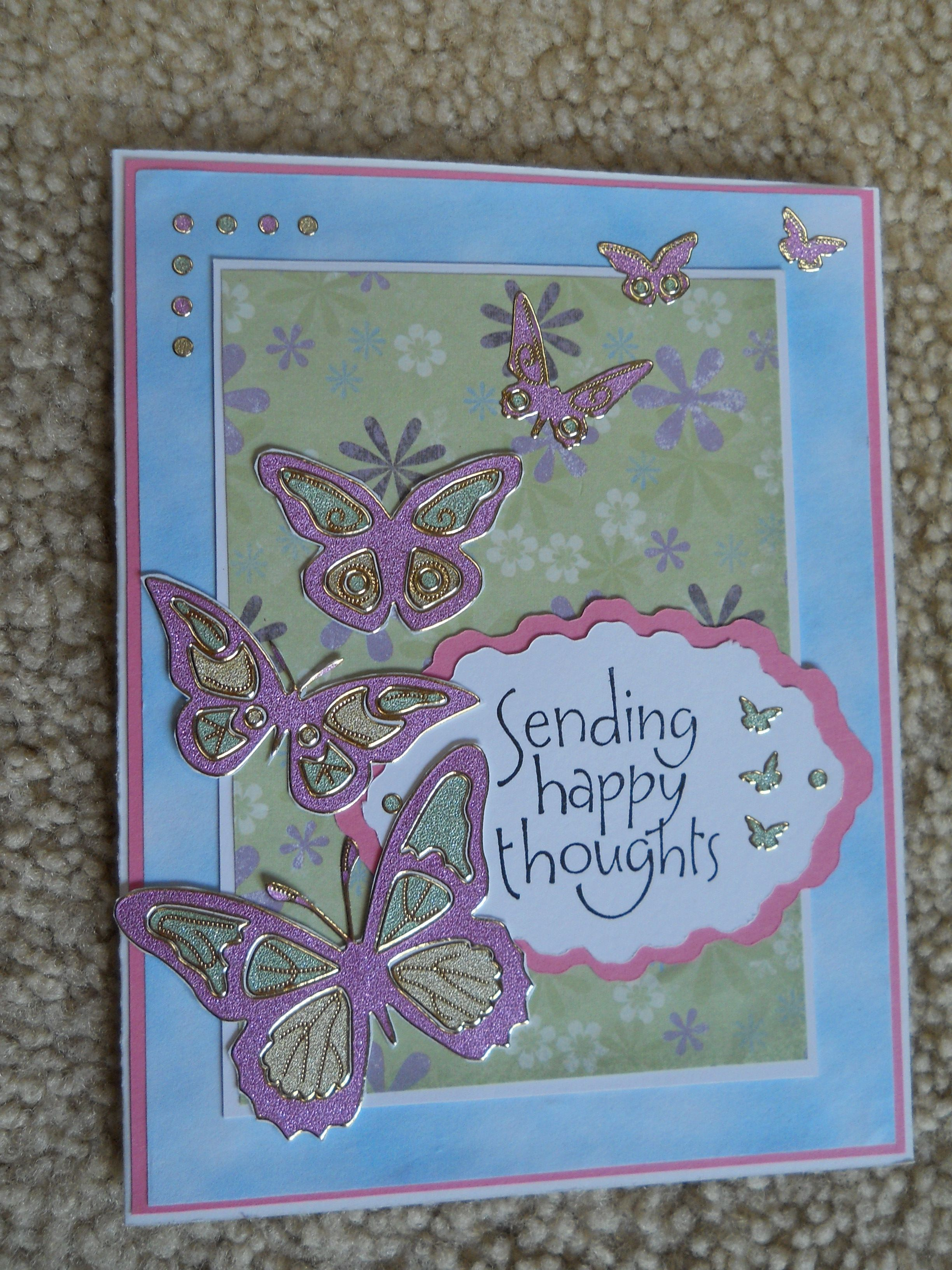 Another Card Made With Dazzles From Paper Wishes Dazzles Really