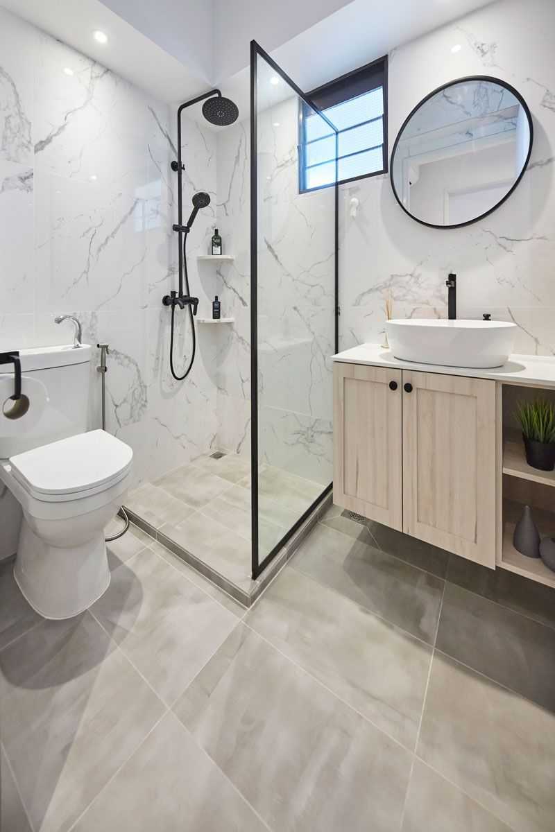 7 Stylish Shower Storage Solutions For Toiletries In 2020 Shower Storage Solutions Bathroom Design Small Easy Bathroom Decorating