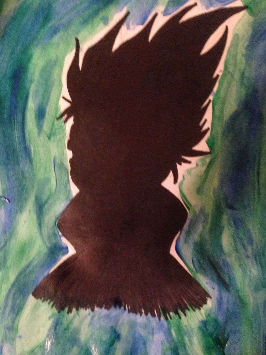 This is my own little creation  hope you like it. It supposed to be Kakashi.