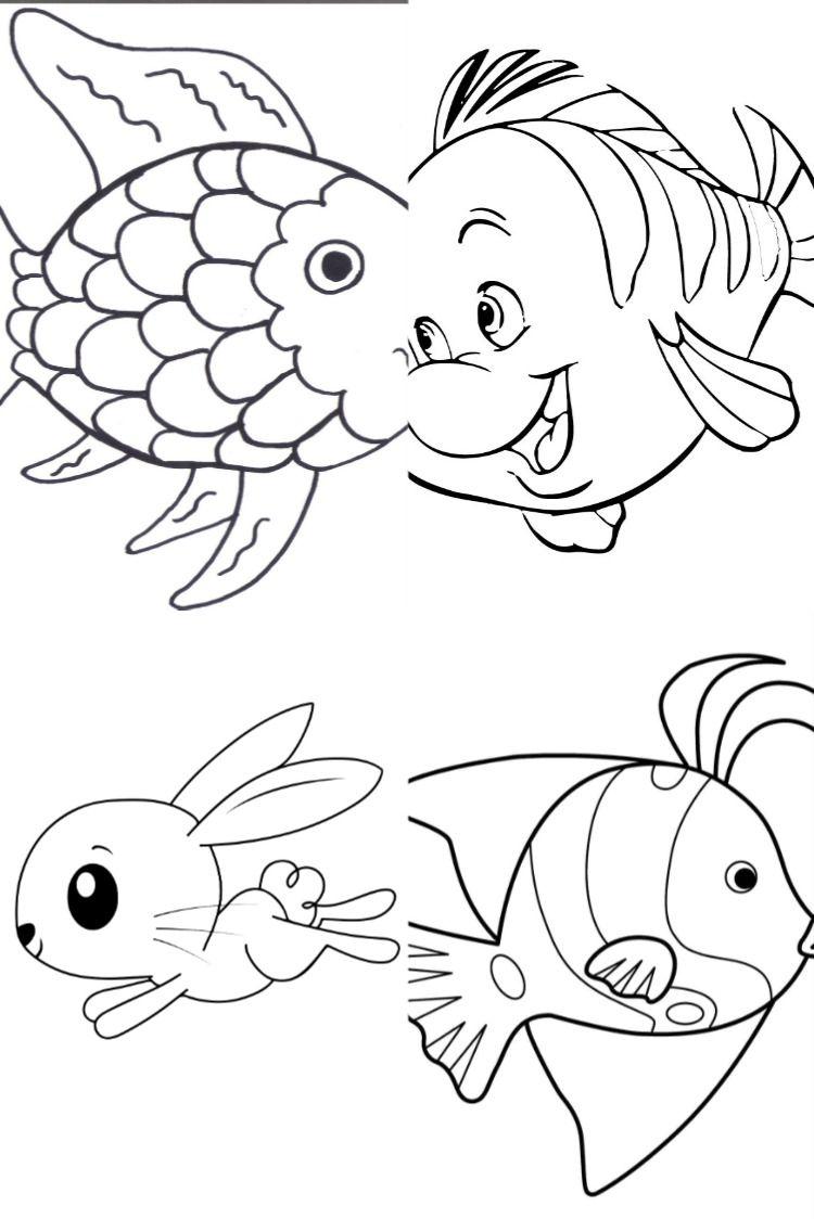 ألبوم سمكة للتلوين موقع أدواتك Activities For Kids Activities Rock