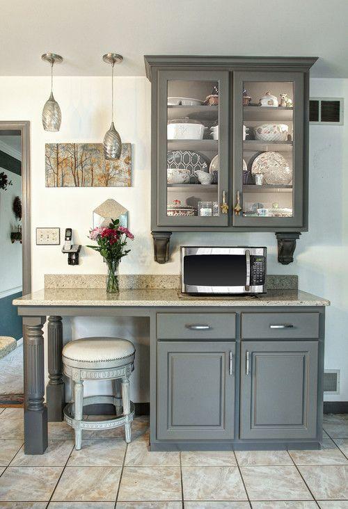 suede gray kitchen by kitchen magic kitchen bath designers rh pinterest com