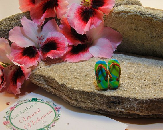 Hey, I found this really awesome Etsy listing at https://www.etsy.com/uk/listing/479091689/green-blue-flip-flop-handmade-unique