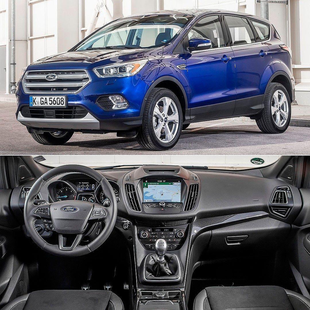 Ford Kuga 2017 Suv E Aposta Da Marca Americana No Mercado Europeu