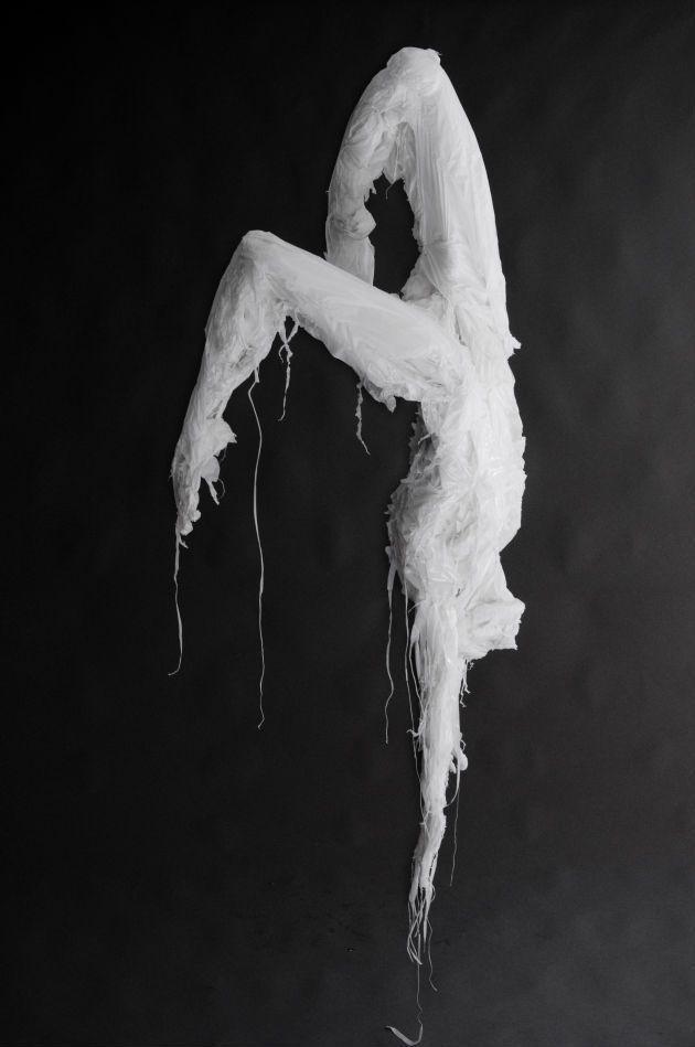 Khalil Chishtee's Plastic Bag Sculptures