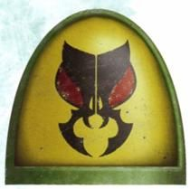 Mantis Warriors [Mantis Legion] Shoulder Badge | Badab war
