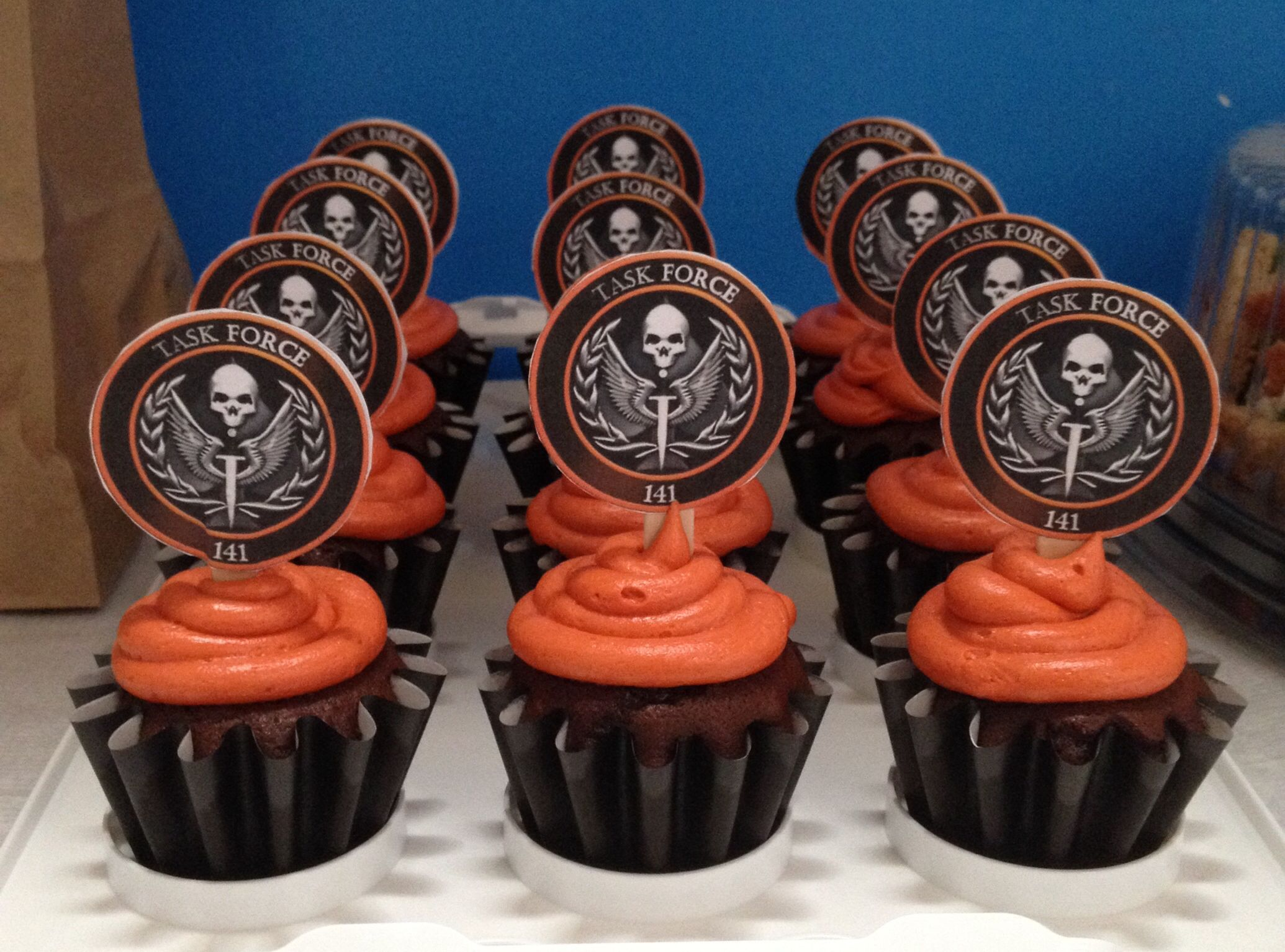 Call of duty food baking desserts