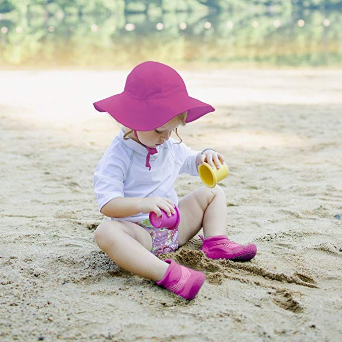 e4bff4c6c8008 Amazon.com  i play. Baby   Toddler Brim Sun Protection Hat  Toddler ...