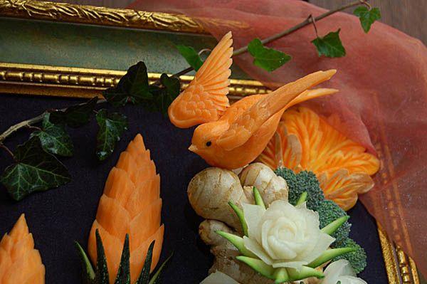 КАРВИНГ - украшение блюд. Резьба по овощам. Наборы для карвинга. Инструменты для карвинга