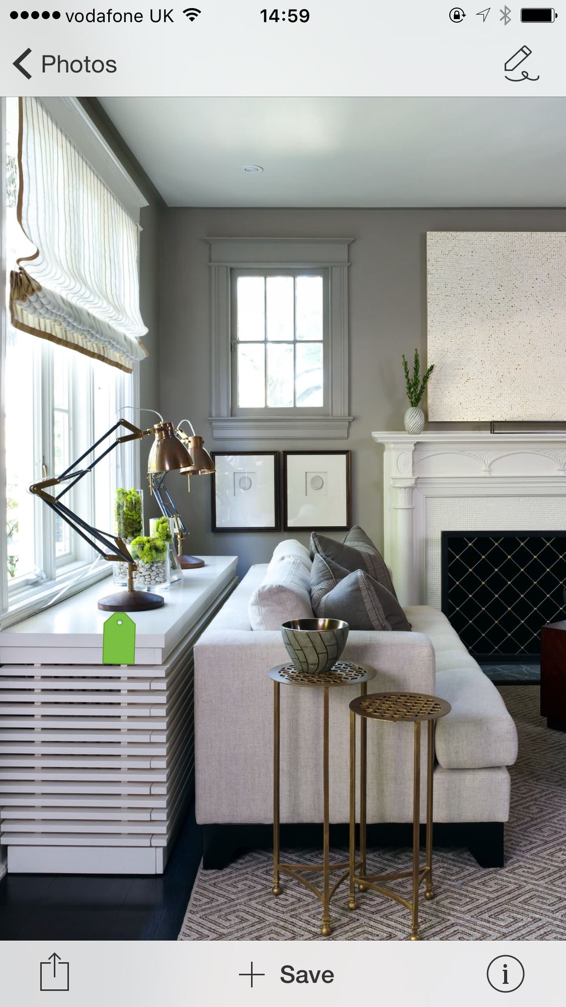 Radiator Covers That Act Like A Console Table Behind The