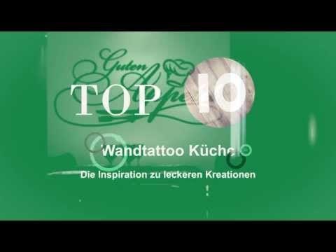 Top 10 - Die beliebtesten Wandtattoos für die Küche