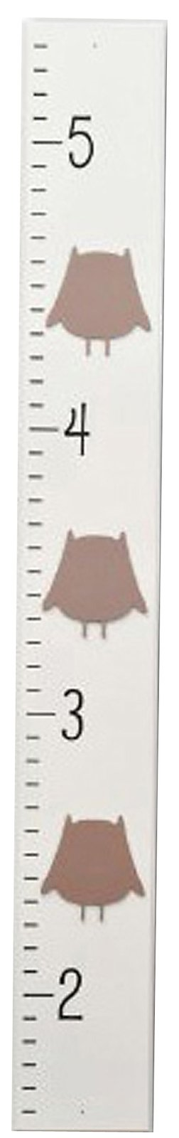Homeworks Etc Owl Growth Chart   Ivory/Brown   Best Price #DiaperscomNursery