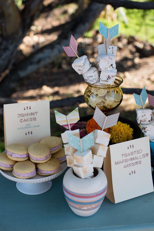 Toasted Marshmallow Arrow Dessert Ideas Thanksgiving Desserts Themewedding Http