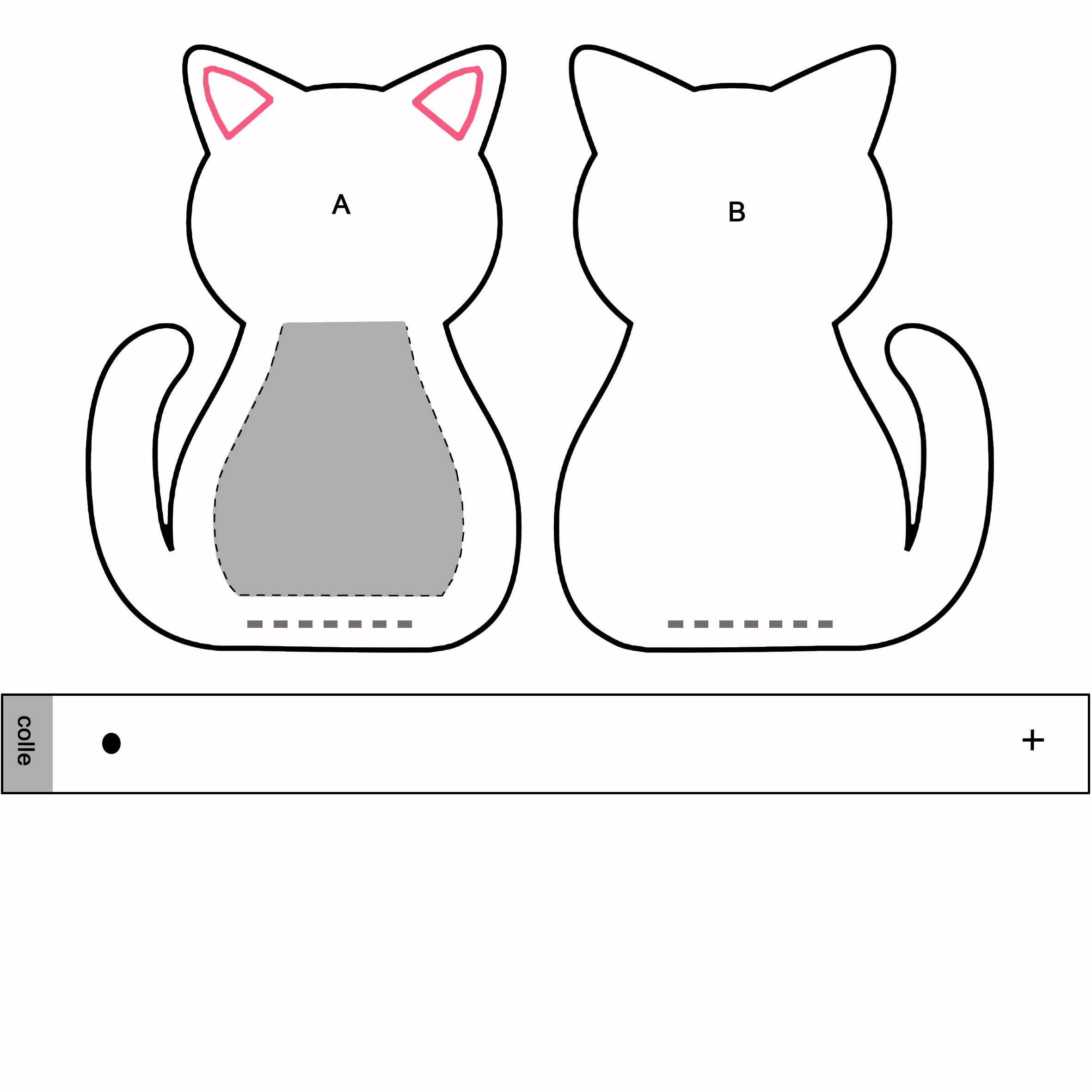 patron chat hd patron chats et feutrine. Black Bedroom Furniture Sets. Home Design Ideas