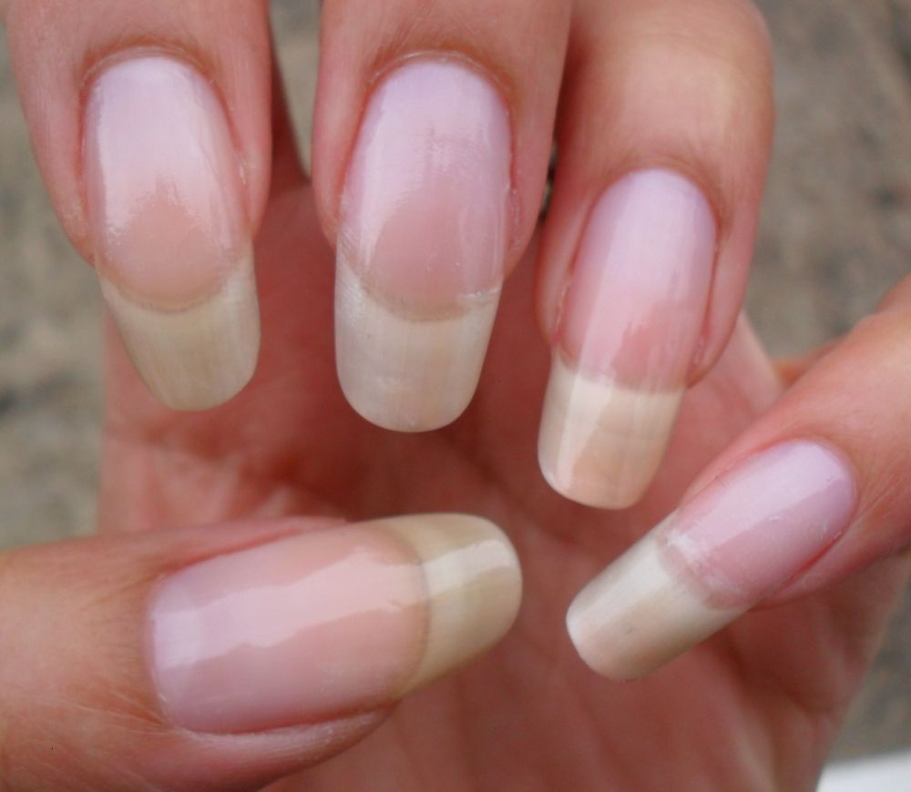 All Naturals Acrylic Nails