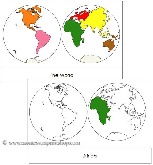 Continents by hemisphere each continent is shown in traditional includes the 7 continents showing 2 hemispheres in a card series 7 pictures with labels 7 pictures without labels 7 labels title card 1 blackline master gumiabroncs Choice Image