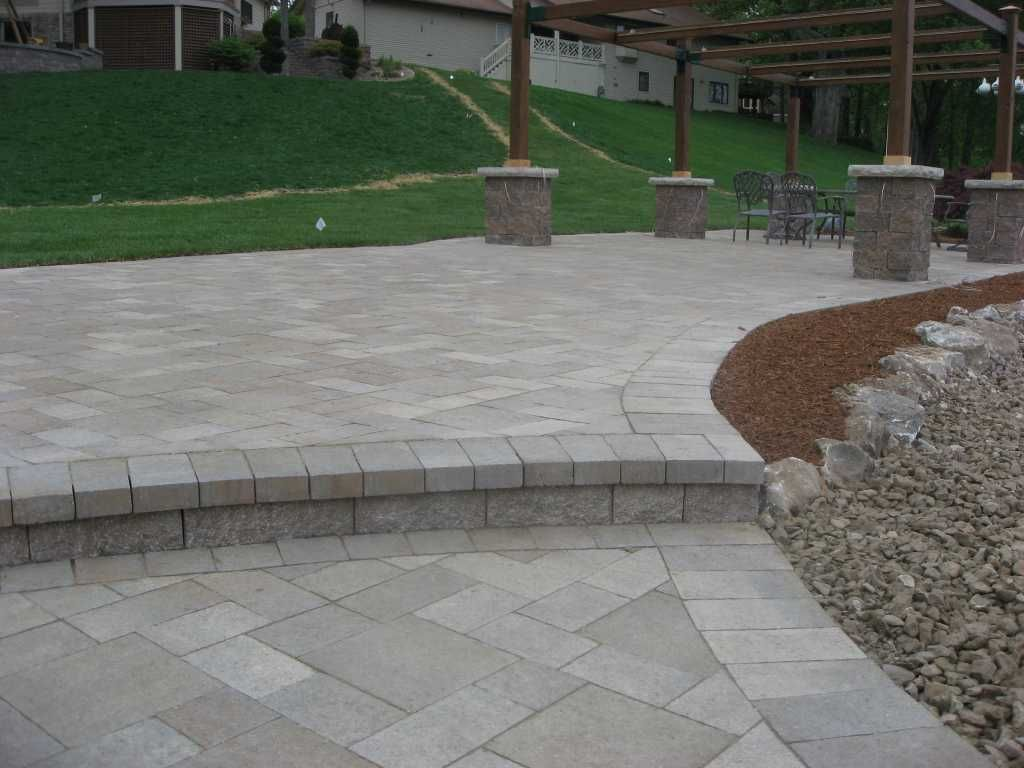 patio paver large gray - Google Search | Paver patio ...