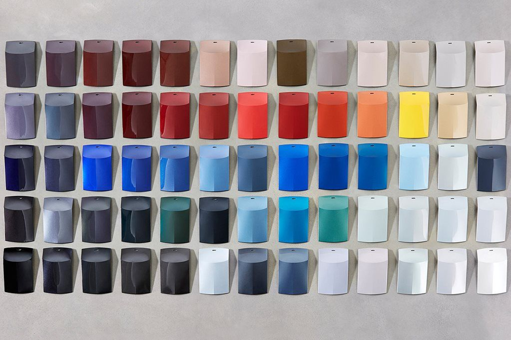 Car Colours To Expect In 2018 Car Paint Colors Car Colors Paint Color Chart