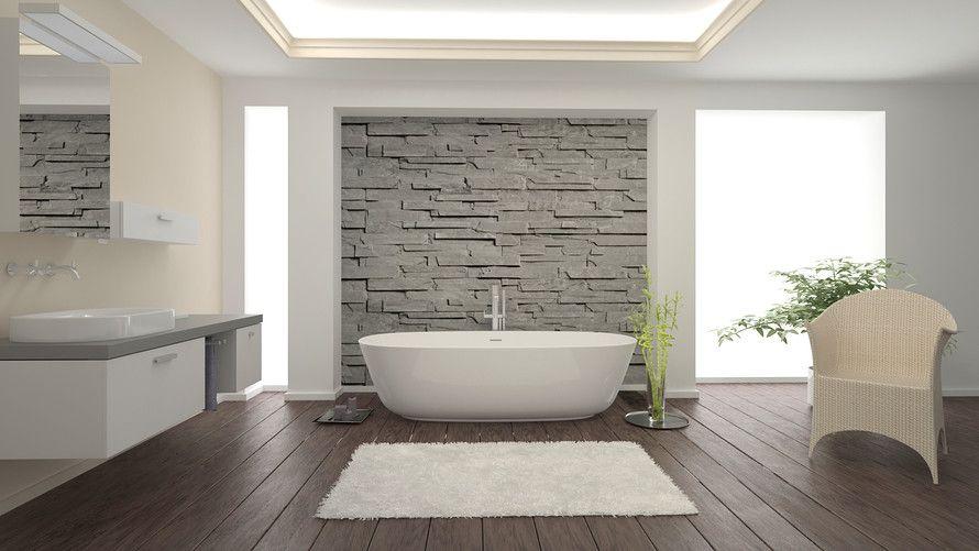 The Master Bathroom Is The New Master Bedroom Modern Bathrooms Interior Bathroom Floor Plans Master Bathroom Decor