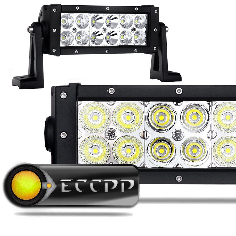 Eccpp 7 5 Quot 36w Off Road Led Work Light Bar Auxiliary Driving Lamp Flood Spot Combo Beam For 4x4 Jeep Cab Rescue Vehicles Led Work Light Best Led Light Bar