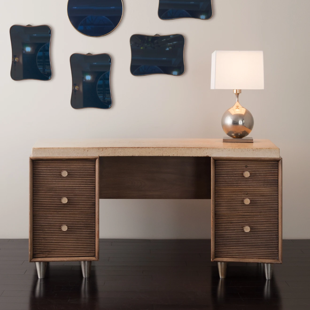 Paul Frankl Desk For Johnson Furniture Co In 2020 (With
