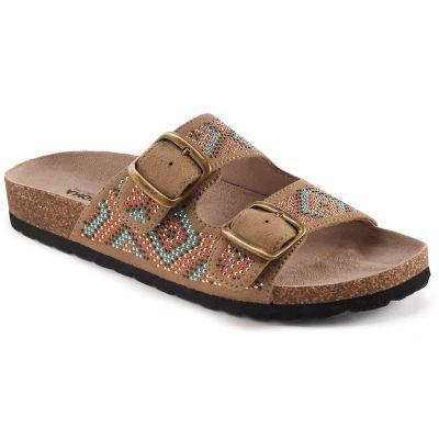 Buckle Slide Footbed Sandals