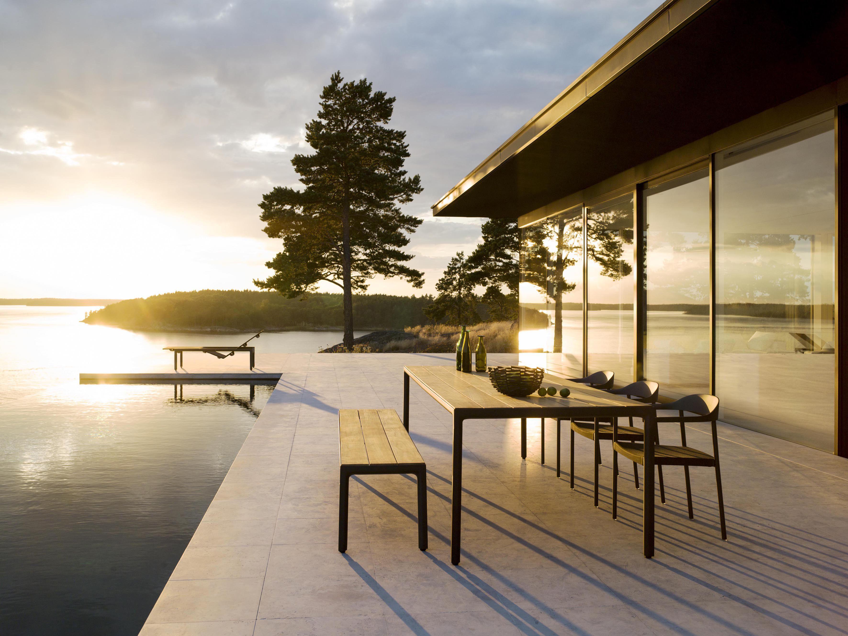 Tribu Illum Outdoor Tables Dining Rooms Scandinavian Furniture
