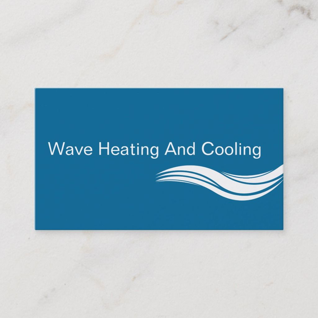 Air Conditioning Business Cards Zazzle Com Air Conditioning