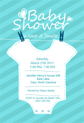 baby shower invitations templates for word
