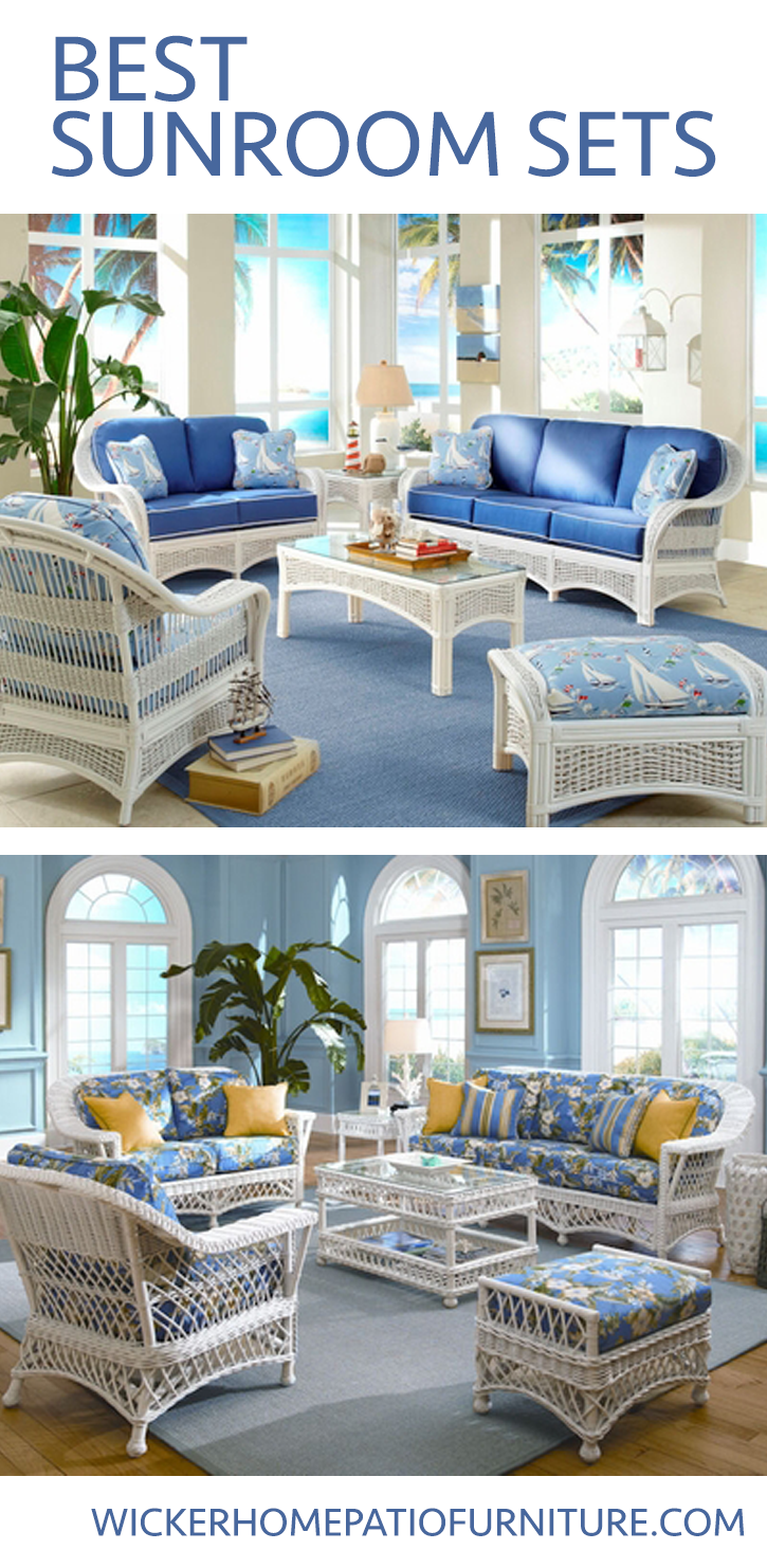 Best Sunroom Sets Sunroom Furniture Wicker Furniture Outdoor