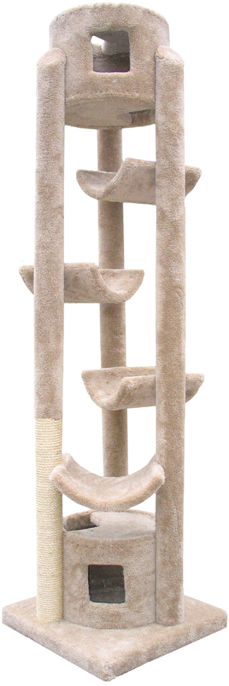 Pinnacle Cat Tree with Sisal Scratching Post